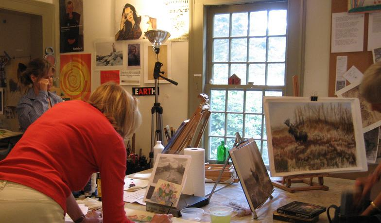 Katherine ross westport ct 06880 for Painting classes ct